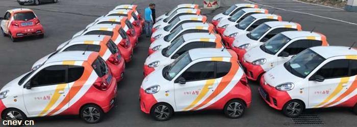 国产电动走出国门  知豆向韩国邮政交付20辆微型纯电动车