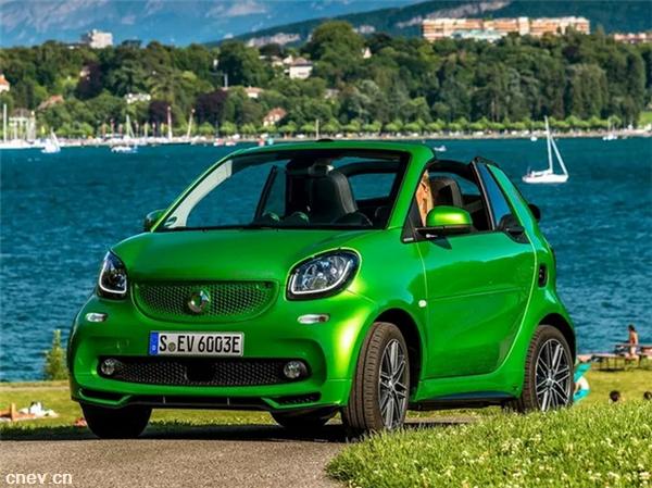 再战中国市场,奔驰smart纯电版将在北汽国产,售价15万元