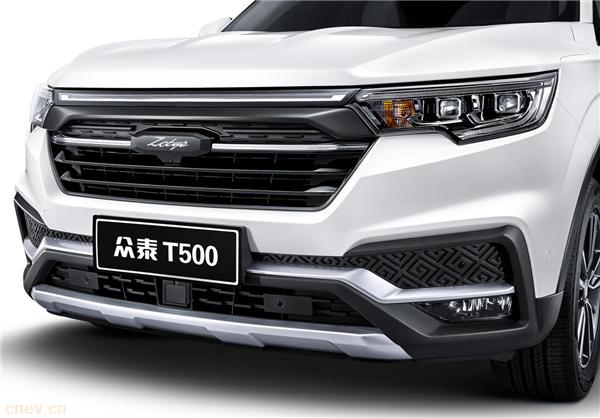 众泰T500六座版将在成都车展上市:智能配置成最大亮点