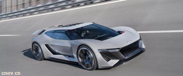 奥迪发布新款纯电动超跑原型车PB18 e-tron 搭配固态电池及800V充电系统