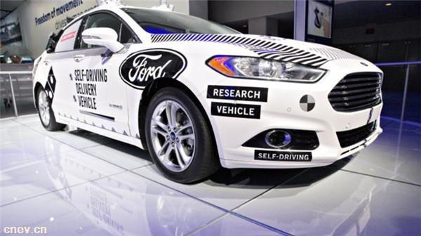 福特与Argo AI开展合作 旨在2021年推出4级自动驾驶汽车