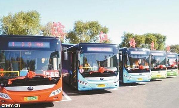 黑龙江佳木斯:70辆纯电动公交车正式上线运营