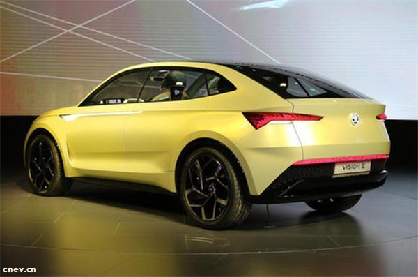 斯柯达首款独立纯电动车将推SUV及轿跑版