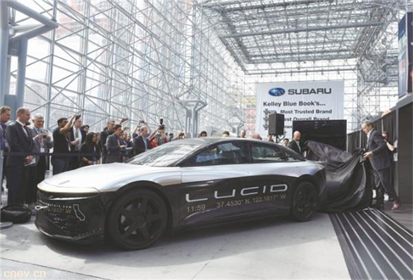 特斯拉、Lucid Motors,缠斗新能源豪车市场