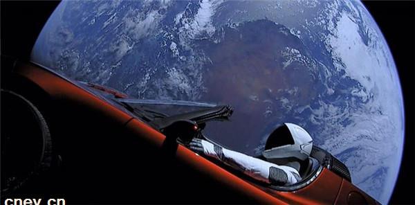 特斯拉更新推荐奖励 可向太空投放时光胶囊