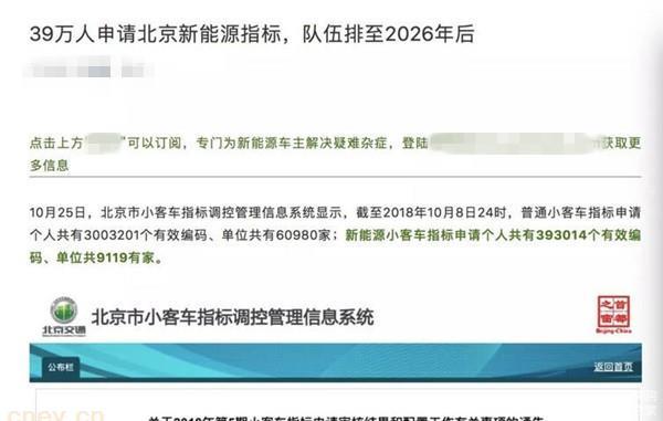 2019年补贴退坡将引燃北京新能源汽车行情?
