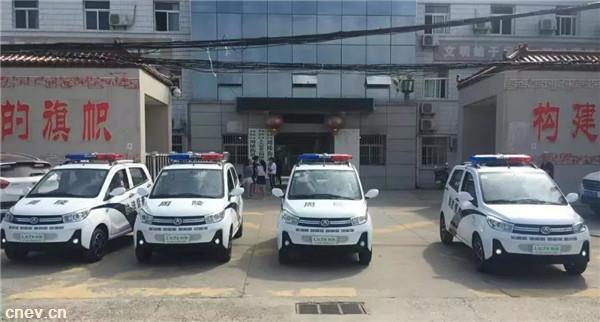 骐风K7丨银川公安采购丽驰超能混动神车21台!