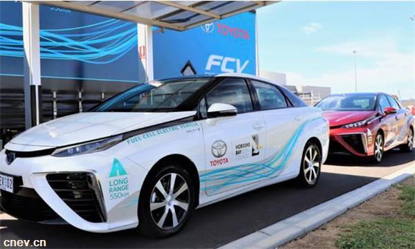 零排放:丰田推出氢燃料电池车试点项目