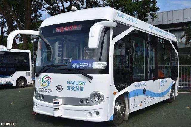 无人驾驶智能公交线路在深圳试运行超300天啦!