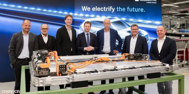 奔驰EQC发布之前 戴姆勒电池超级工厂员工增加