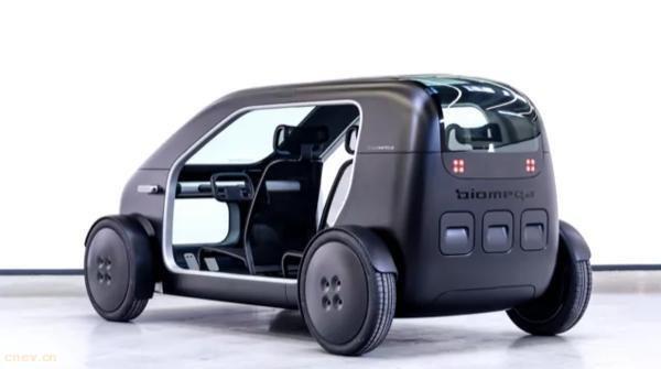 丹麦首款电动汽车SIN:亮相上海进博会