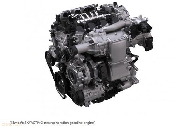 马自达启用Skyactiv X发动机 性能将提升近30%