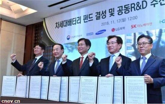 韩国三大电池厂商已联手 欲制霸新能源行业