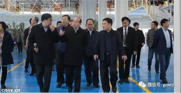 重磅 | 贵州全省第二次项目观摩团走进万仁汽车集团