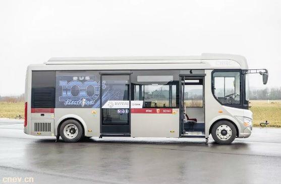 中国企业获法国20辆高端电动客车订单