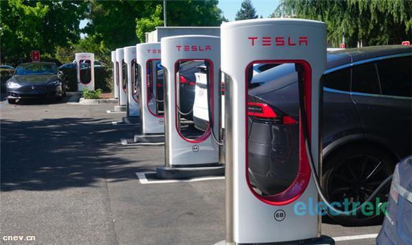特斯拉计划扩大超级充电网络 充电站计划推至明年