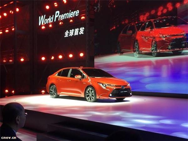 广州车展新车全球首发 丰田推进新能源汽车在华市场