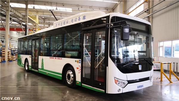 吉利交付西安300辆纯电动客车 提供绿色出行服务