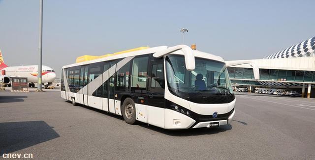 动态 | 比亚迪获深圳机场首批纯电动摆渡车订单