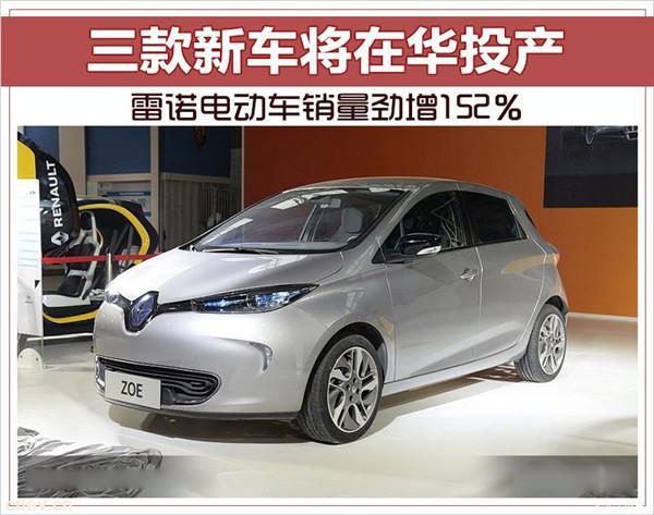 销量劲增152% 雷诺电动车三款新车将在华投产