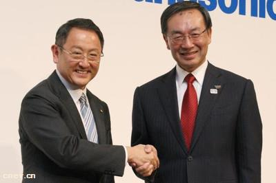 丰田电动汽车电池将由松下供应 取代中国制造