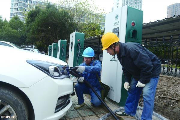 浙江杭州:2108年余杭区新增13个公共充电站