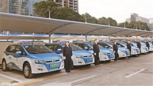 广东深圳:1690个纯电动出租充电桩投放运营