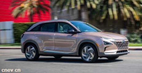 现代:交付美国首辆NEXO燃料电池SUV