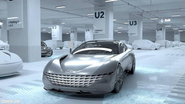 现代将推无线充电和自动代客泊车系统