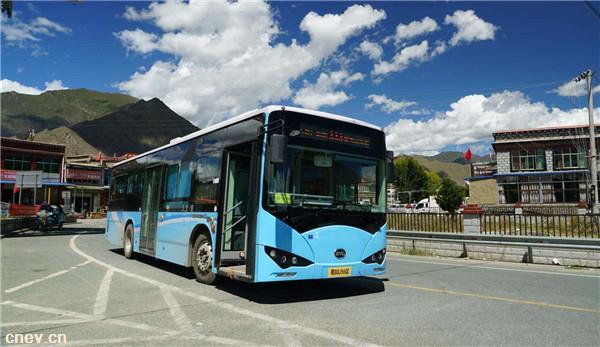 西藏拉萨2019年新能源公交车占比将达80%