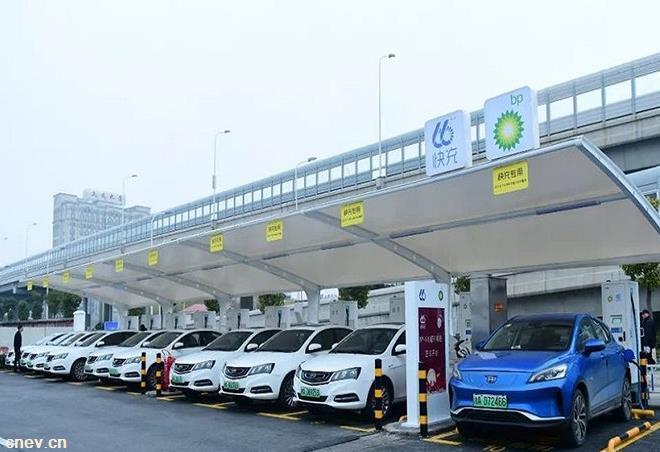 英国石油公司在中国的首座充电站落户上海嘉定