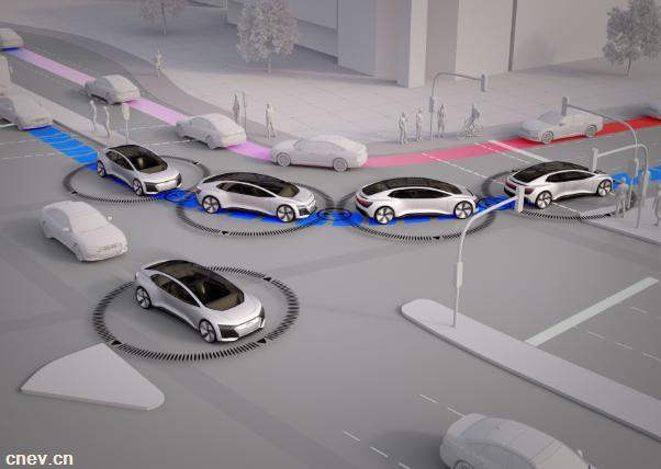 奥迪宣称未来城市自动驾驶车辆至少达到40..