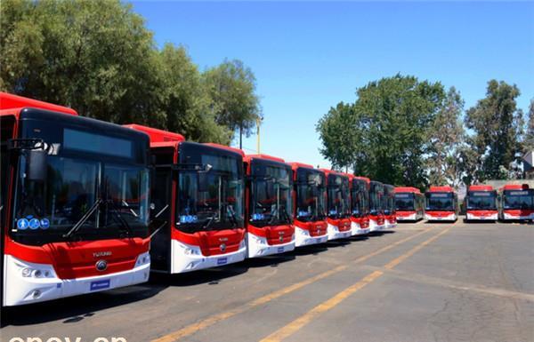 宇通100台纯电动客车交付智利 拉美累计销量超2万