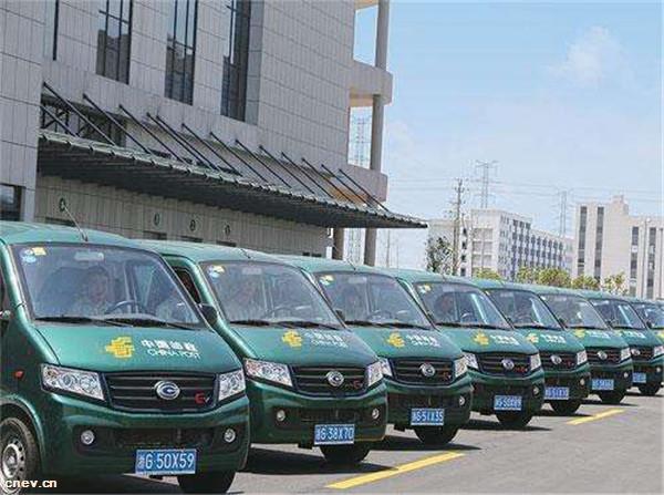 天津邮政快递领域新能源汽车突破2000辆