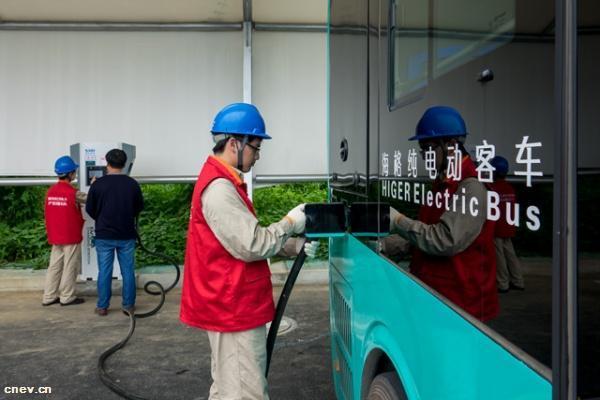 江苏:燃油公交车明年底将退出苏州主城区