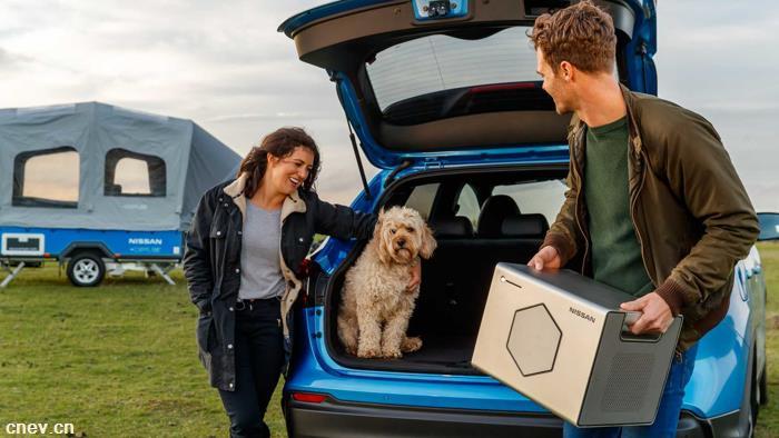 日产利用电动汽车旧电池 提供露营车便携式电源