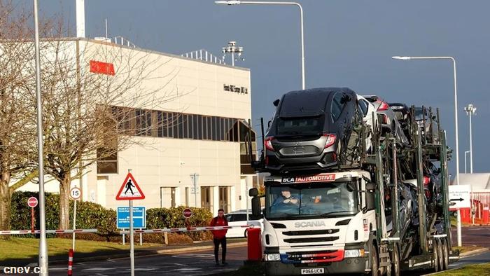 不仅仅关闭英国工厂!本田将重组全球生产网络