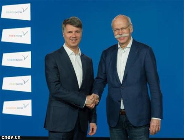 戴姆勒、宝马将投10亿欧元!建5?#39029;?#34892;合资公司