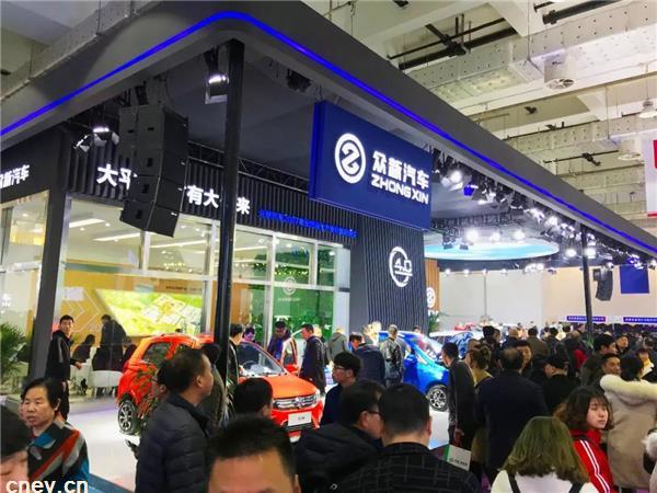 众新S9亮相济南展 开启高端纯电动SUV..