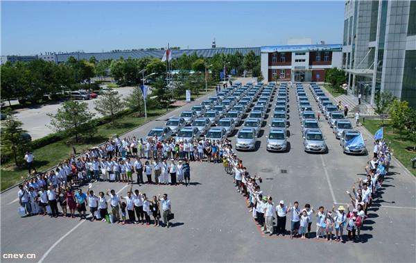 2月销量下跌34% 北汽新能源车型或向高..