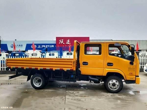 上汽跃进:打造国内首款 燃料电池物流车-30°C可用