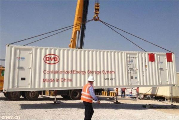 比亚迪:将在墨西哥建设100MWh储能系统