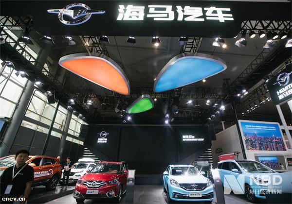 海馬汽車3月銷量同比下滑77.28%,部..