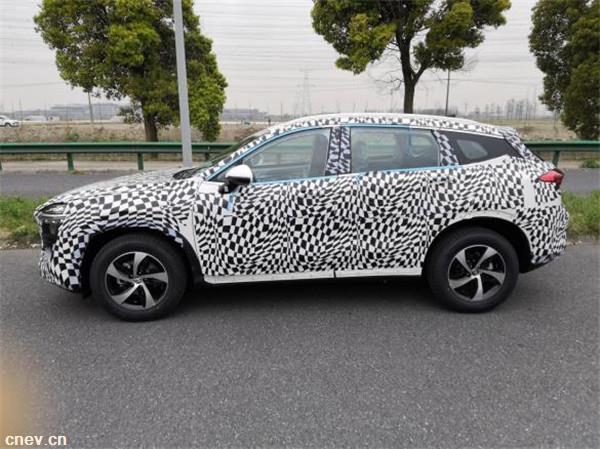 发力紧凑级SUV市场 众泰A16最新谍照曝光