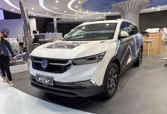 2019年上海车展:东风风神AX7 PHEV(插电混动)和AX7 FCV型(氢燃料电池车)正式亮相