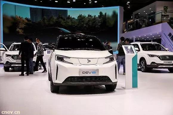 新特汽車完成B輪融資,今年將發布全新A0級電動汽車