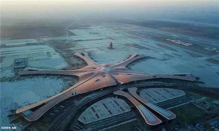 酷到飞起!追日充电桩即将进驻北京大兴国际机场