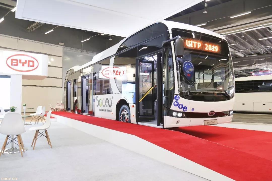 """耀世出击UITP国际公共交通展览会 比亚迪再迎""""高光""""时刻"""