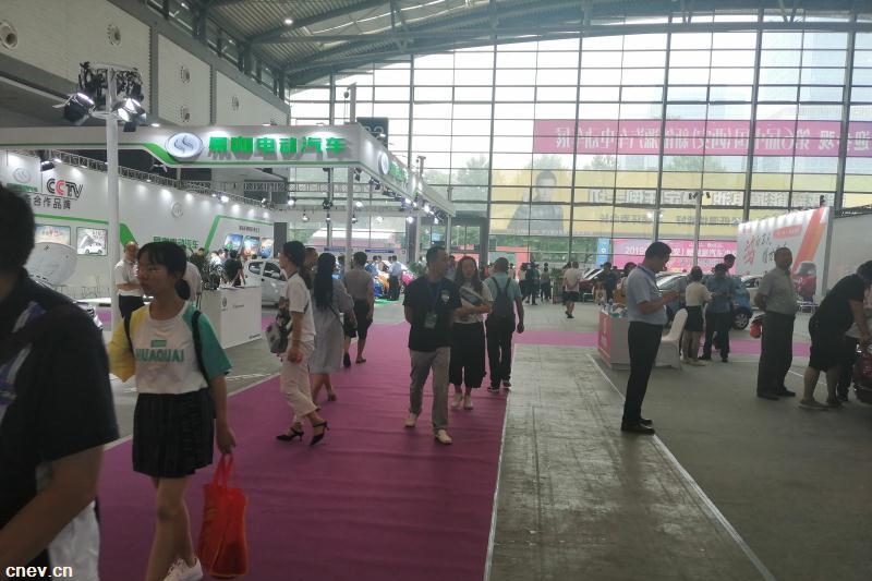 第六届西安新能源汽车电动车展览会盛大开幕