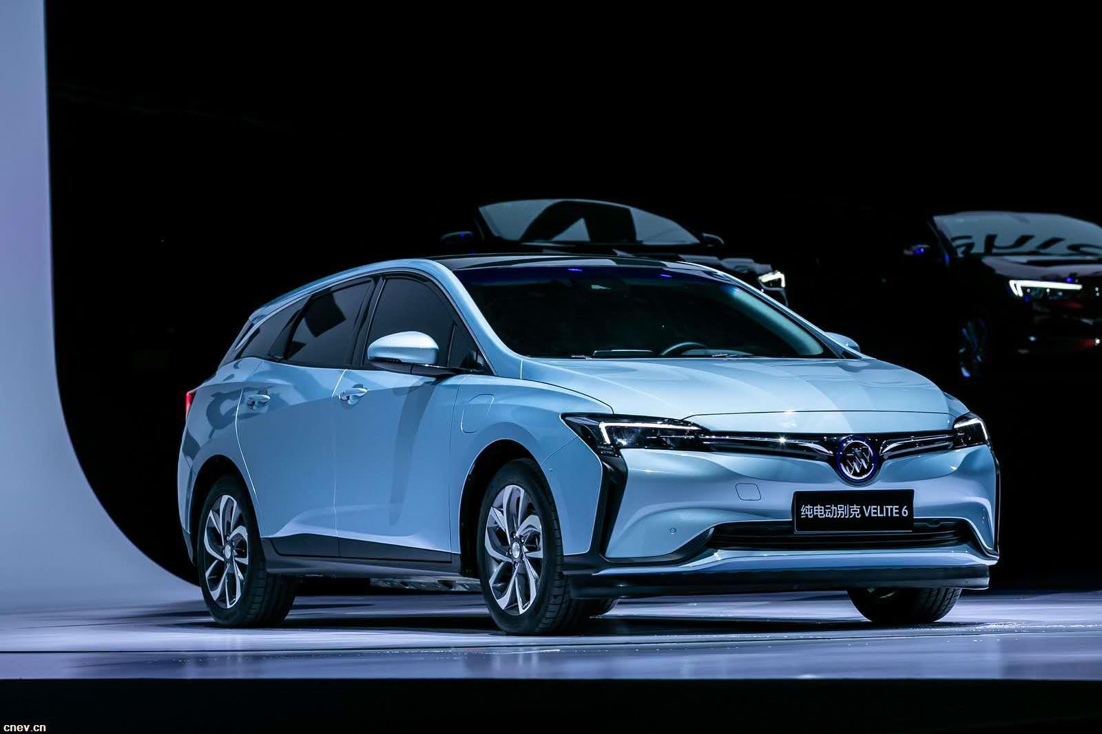 別克推出純電動汽車VELITE 6 售價16.58萬元起